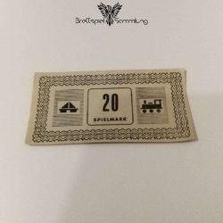 Monopoly Silber Edition Spielgeld 20 Spielmark #1