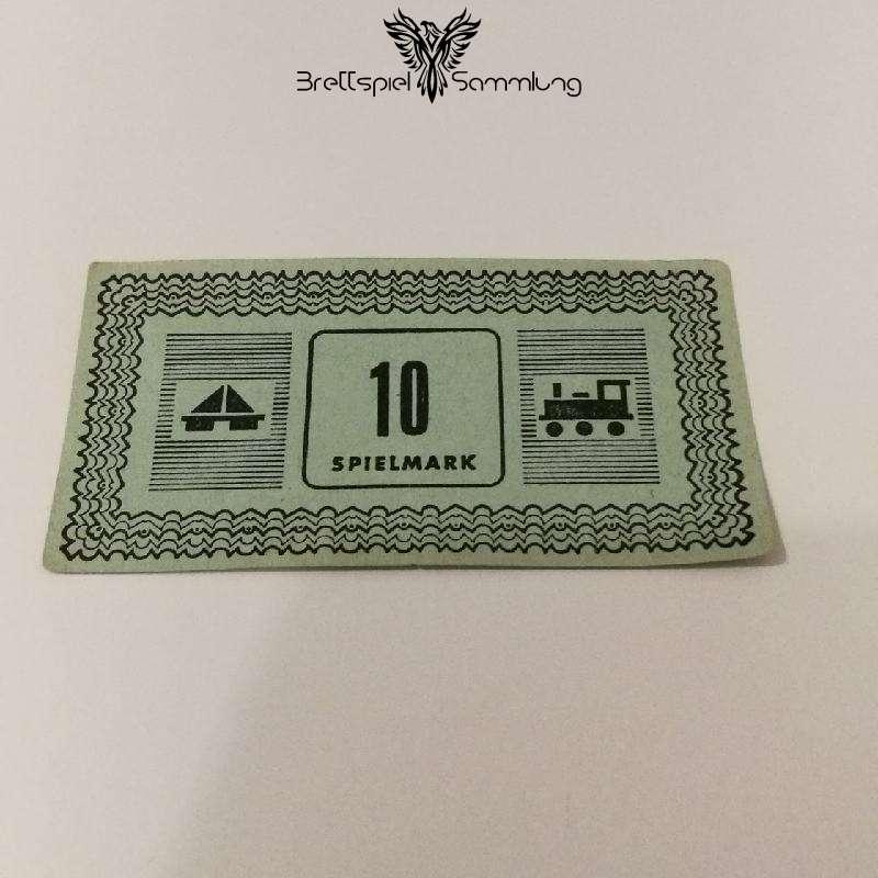 Monopoly Silber Edition Spielgeld 10 Spielmark #1