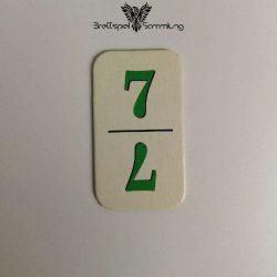 Rummy Kärtchen Grün 7