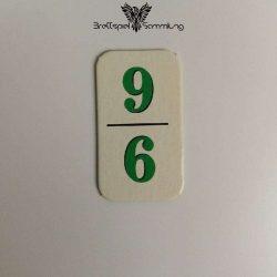 Rummy Kärtchen Grün 9