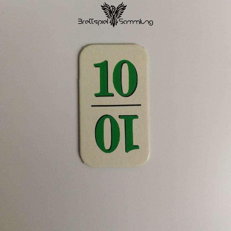 Rummy Kärtchen Grün 10