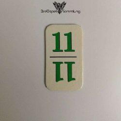 Rummy Kärtchen Grün 11