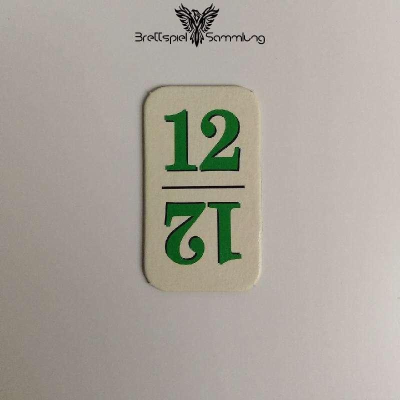 Rummy Kärtchen Grün 12