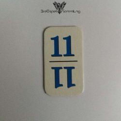 Rummy Kärtchen Blau 11