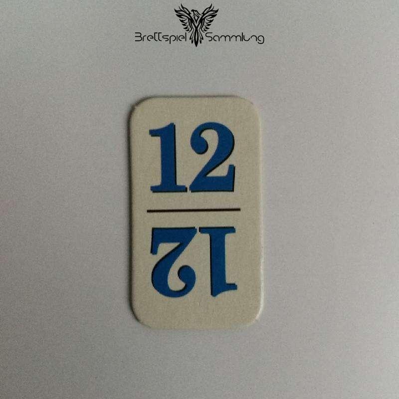 Rummy Kärtchen Blau 12