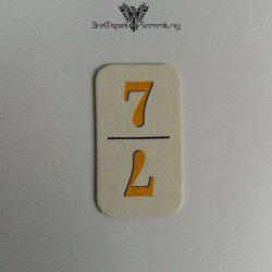 Rummy Kärtchen Gelb 7