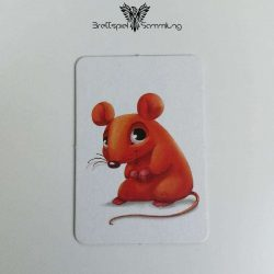 Schnappt Hubi Spielertafel Maus Rot