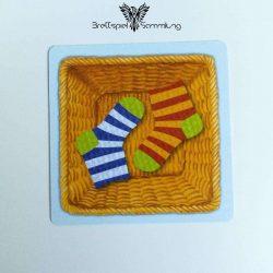 Socken Zocken Schleudergang Sockenkorb Motiv #1
