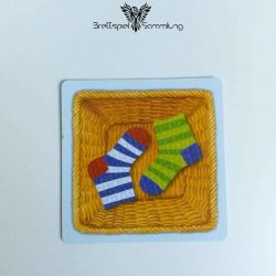 Socken Zocken Schleudergang Sockenkorb Motiv #10