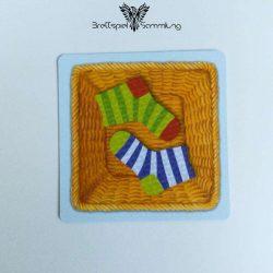 Socken Zocken Schleudergang Sockenkorb Motiv #11