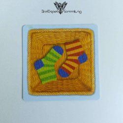 Socken Zocken Schleudergang Sockenkorb Motiv #13