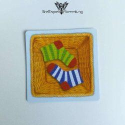 Socken Zocken Schleudergang Sockenkorb Motiv #14