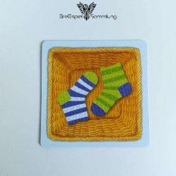 Socken Zocken Schleudergang Sockenkorb Motiv #15