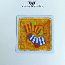Socken Zocken Schleudergang Sockenkorb Motiv #8