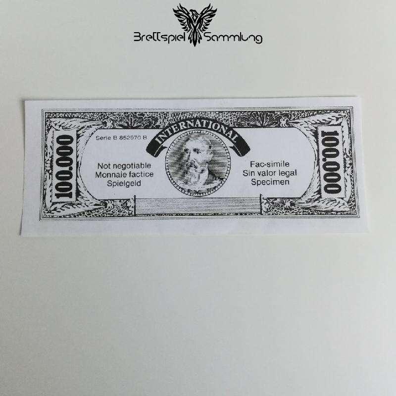 Spiel Des Lebens Spielgeld 100000 #1