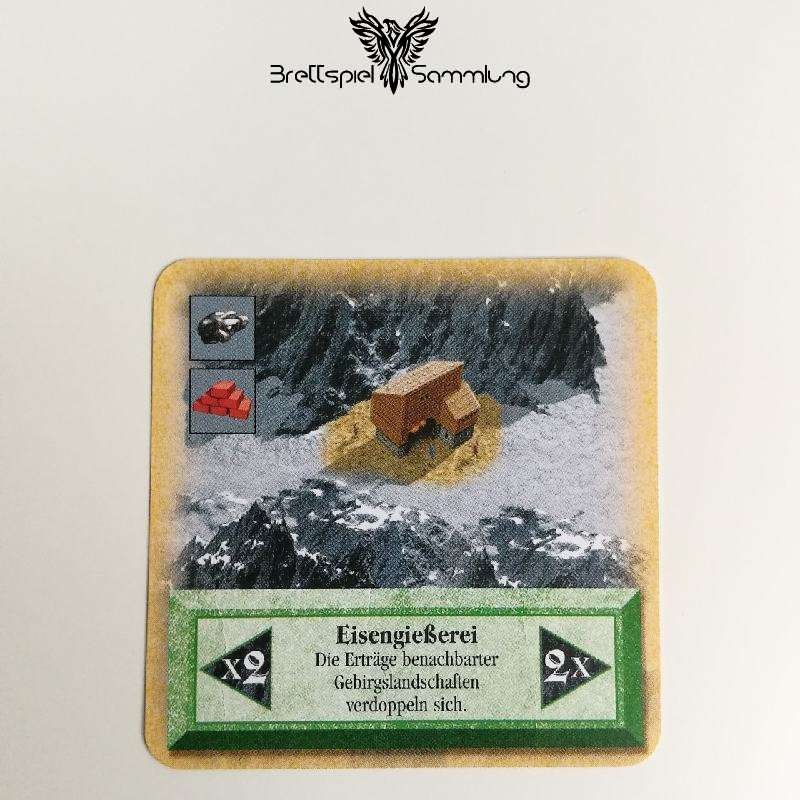 Die Siedler Von Catan Das Kartenspiel Spielkarte Eißengießerei