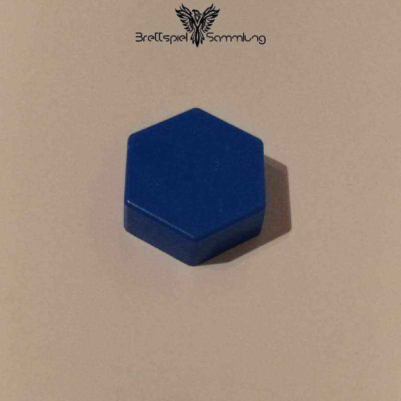 Colorama Spielstein Blau Sechseck