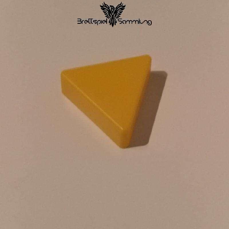 Colorama Spielstein Gelb Dreieck