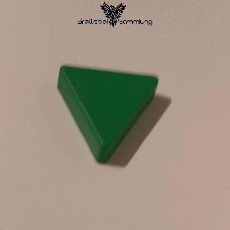 Colorama Spielstein Grün Dreieck