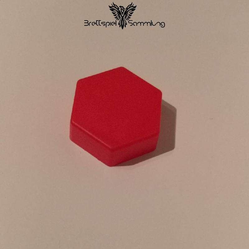 Colorama Spielstein Rot Sechseck