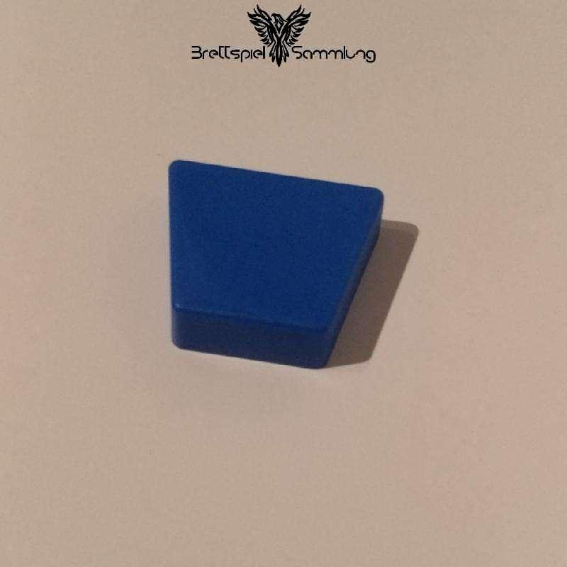 Colorama Spielstein Blau Trapez