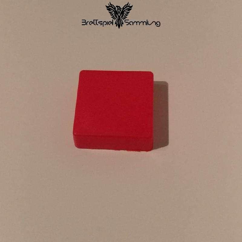 Colorama Spielstein Rot Quadrat