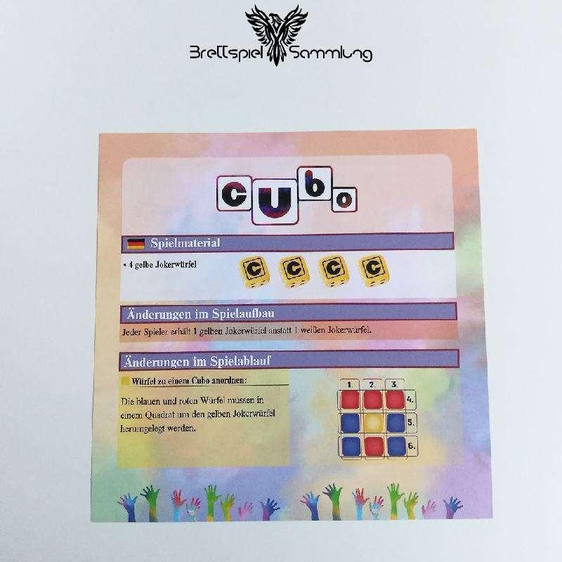 Cubo Spielanleitung #1