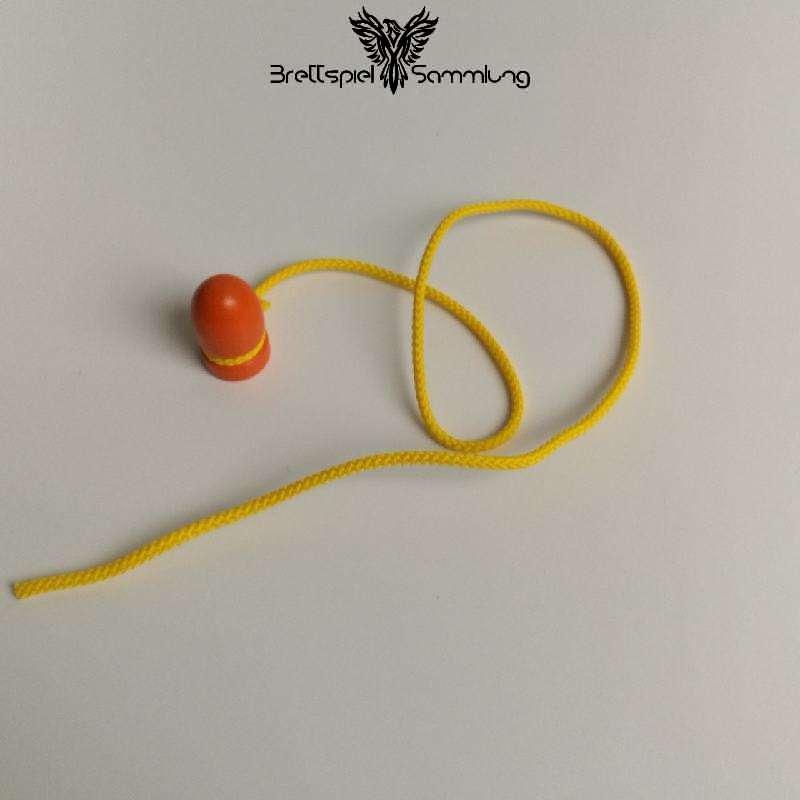 Fang Die Maus Holzmaus Mit Schnur Orange