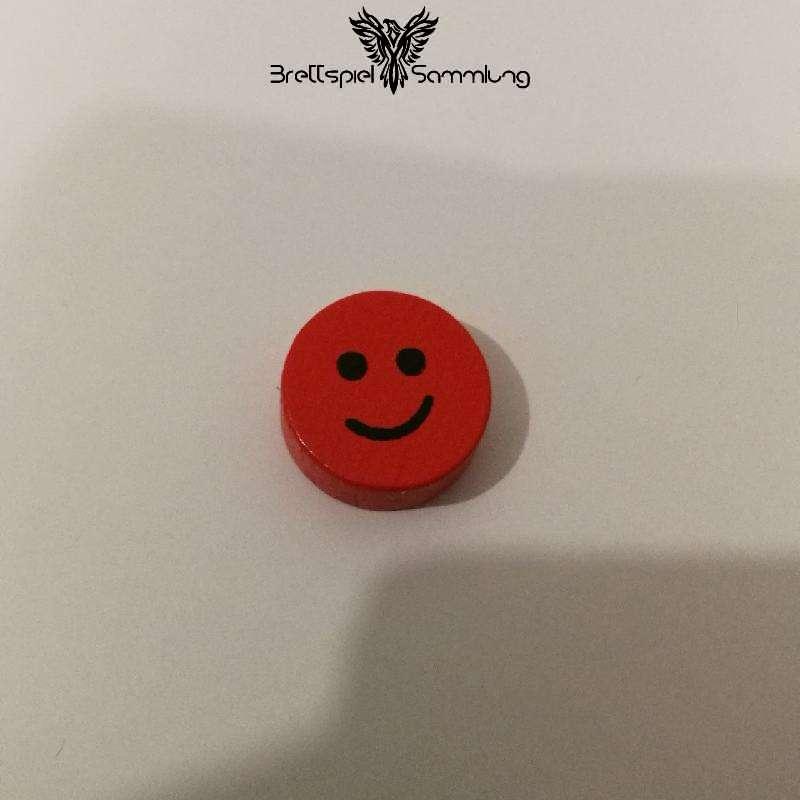 Geistertreppe Mitbringspiel Farbmerkscheibe Rot