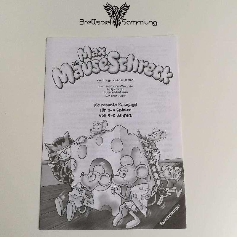Max Mäuseschreck Spielanleitung