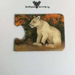 Tiere Und Ihre Kinder Kartenhälfte Löwin