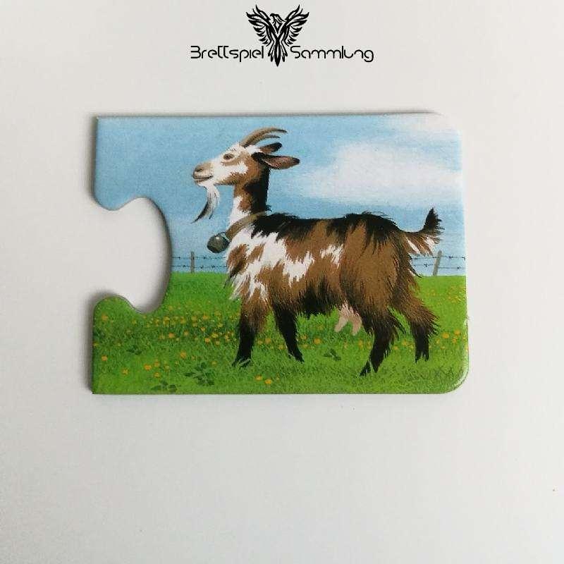Tiere Und Ihre Kinder Kartenhälfte Ziege