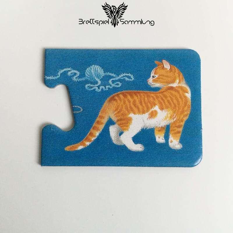 Tiere Und Ihre Kinder Kartenhälfte Katze