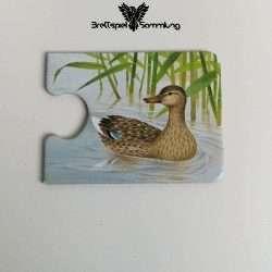 Tiere Und Ihre Kinder Kartenhälfte Ente