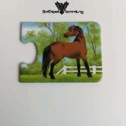 Tiere Und Ihre Kinder Kartenhälfte Pferd