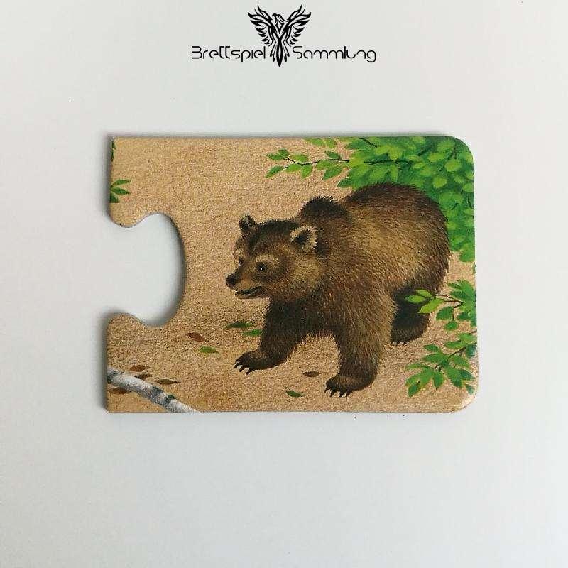 Tiere Und Ihre Kinder Kartenhälfte Bärin
