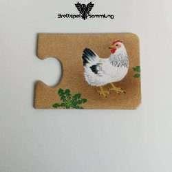 Tiere Und Ihre Kinder Kartenhälfte Henne