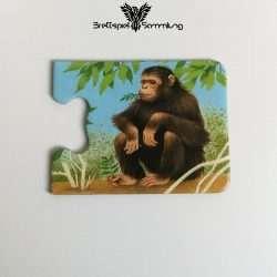 Tiere Und Ihre Kinder Kartenhälfte Affe