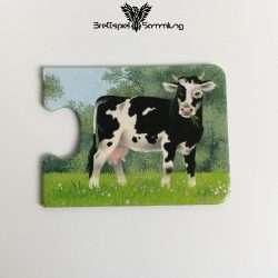 Tiere Und Ihre Kinder Kartenhälfte Kuh