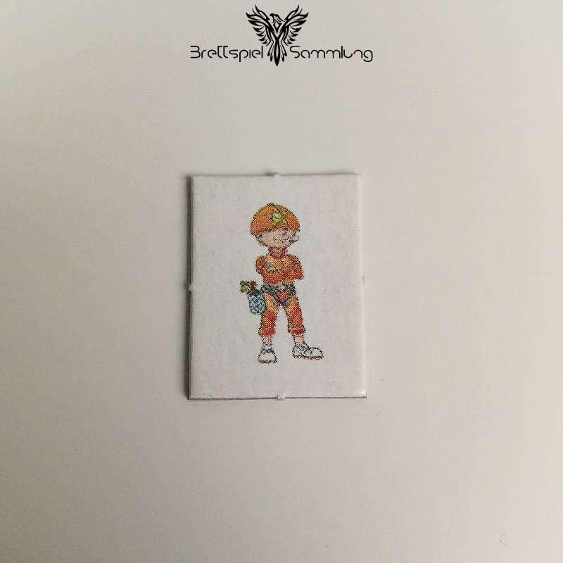 Wer Wars Das 2. Abenteuer Kleines Kinderkärtchen Orange