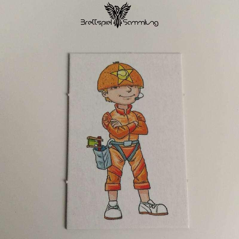 Wer Wars Das 2. Abenteuer Großes Kinderkärtchen Orange