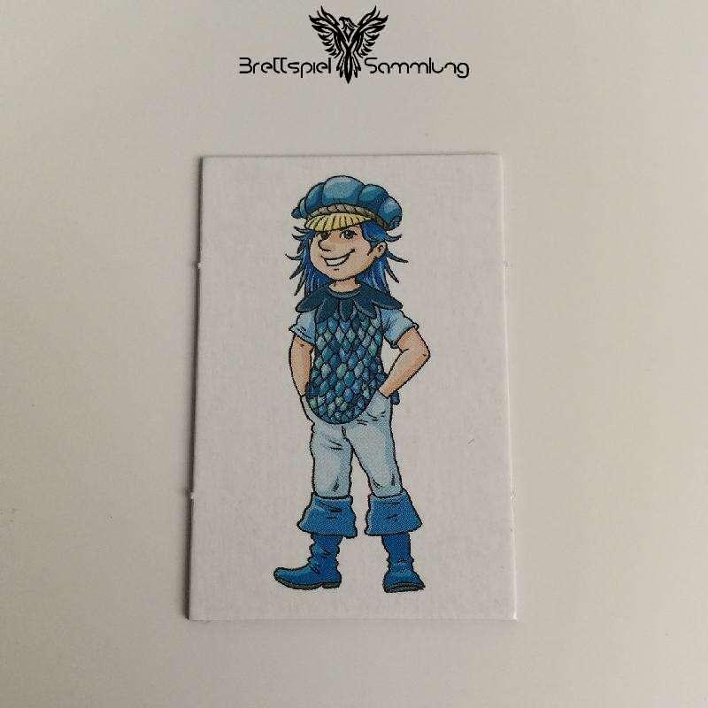 Wer Wars Das 2. Abenteuer Großes Kinderkärtchen Blau
