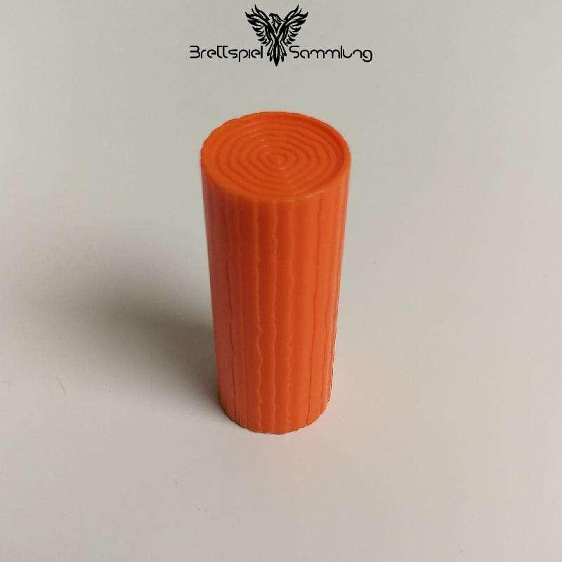 Billy Biber Baumstamm Orange