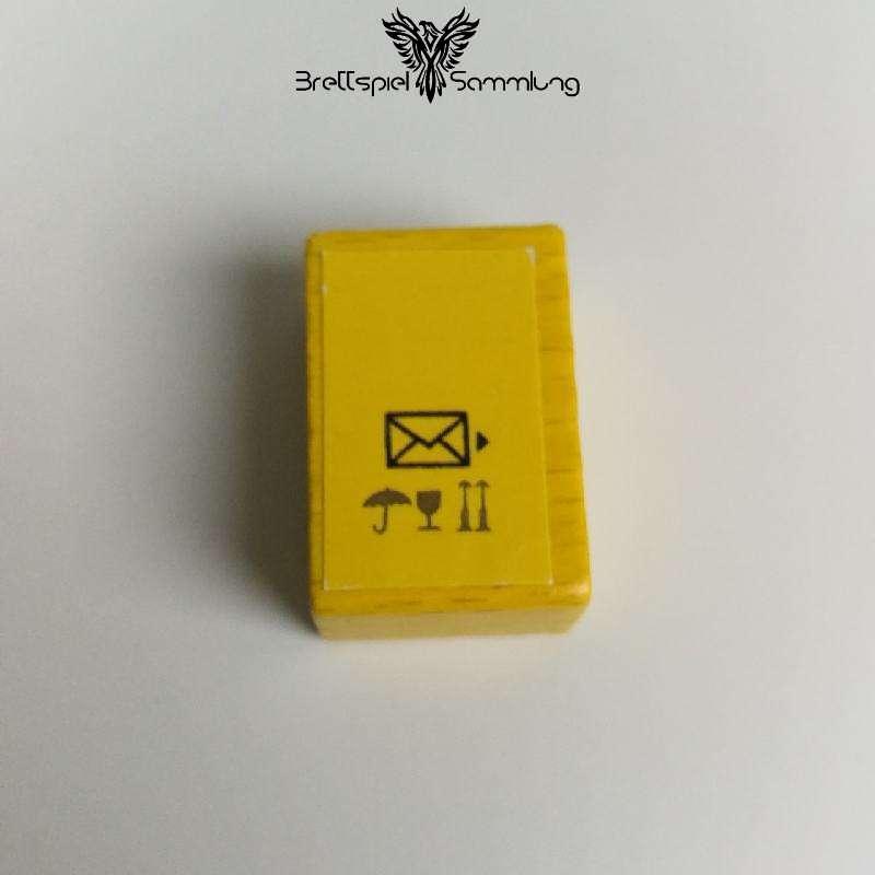 Lieselotte Teilt Aus Holzpaket Gelb #2