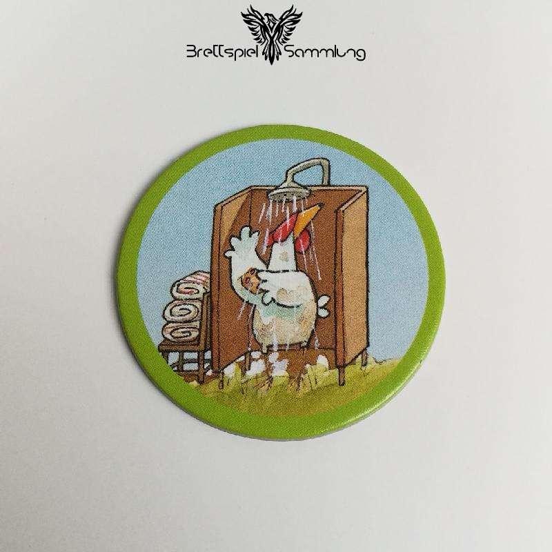 Lieselotte Teilt Aus Hühnerplättchen Motiv #7