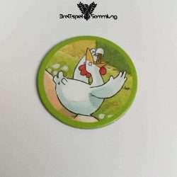 Lieselotte Teilt Aus Hühnerplättchen Motiv #1