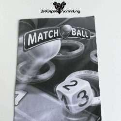 Match Ball Spielanleitung