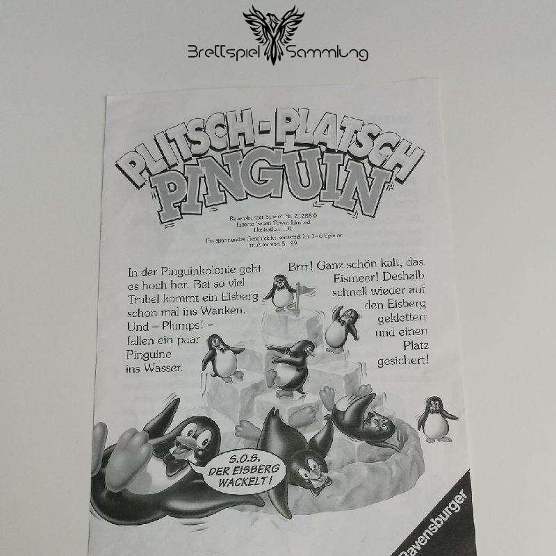 Plitsch Platsch Pinguin Spielanleitung