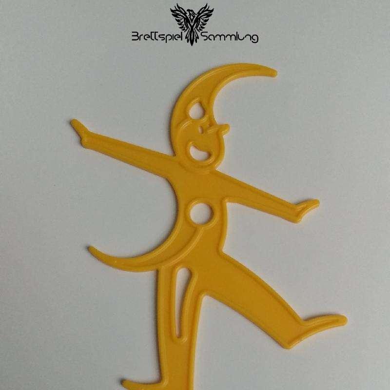Stapelmännchen Männchen Aus Kunststoff Gelb