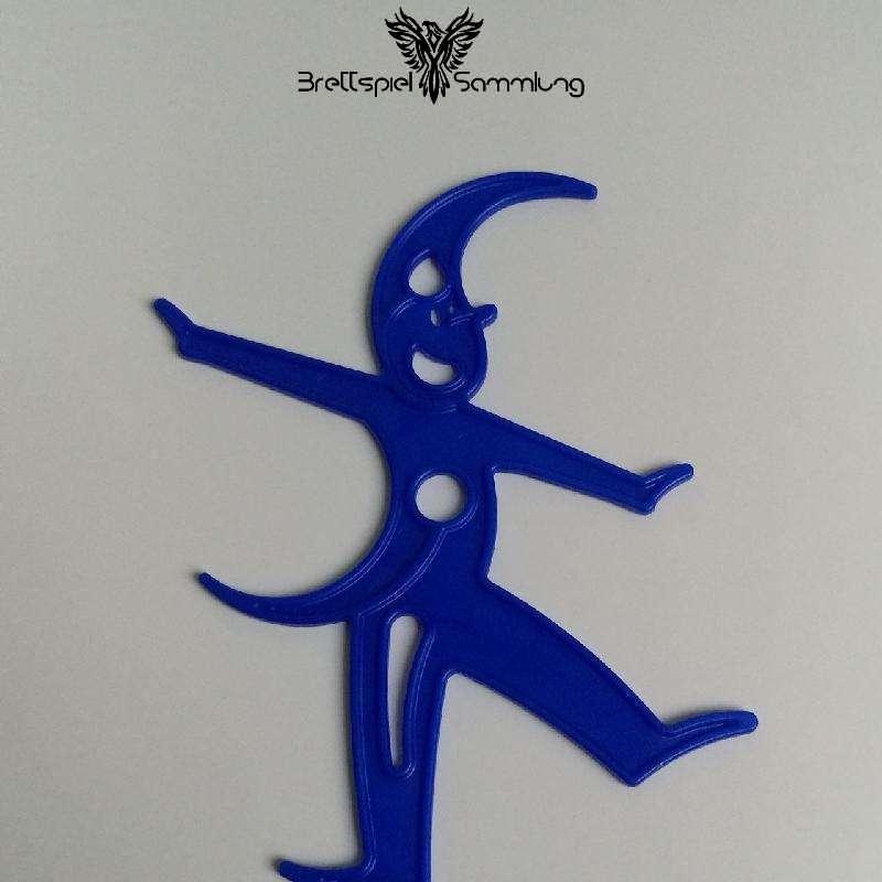 Stapelmännchen Männchen Aus Kunststoff Blau